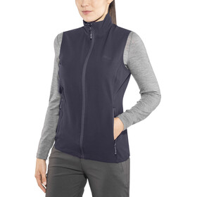 Bergans Ramberg Softshell Vest Women Dark Navy/Night Blue